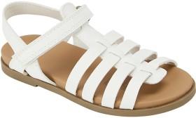 Junior-Sandals-White on sale