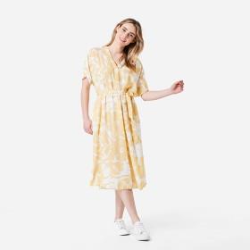 Short-Sleeve-Kaftan-Midi-Dress on sale