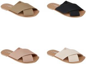 Knit-Crossover-Slides on sale