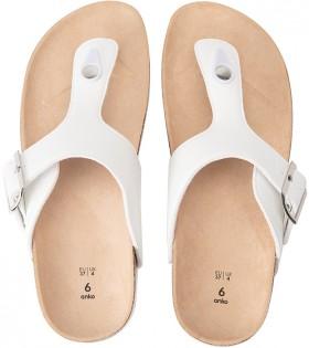 Basic-Footbed-Thongs on sale