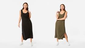 Sleeveless-Knit-Column-Midi-Dress on sale