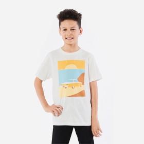 Short-Sleeve-Slub-Print-T-Shirt on sale