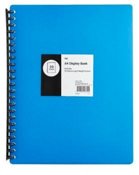 Keji-A4-20-Pocket-Refillable-Display-Book on sale