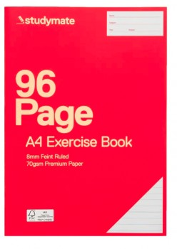 Studymate-A4-96-Page-70gsm-Exercise-Book on sale