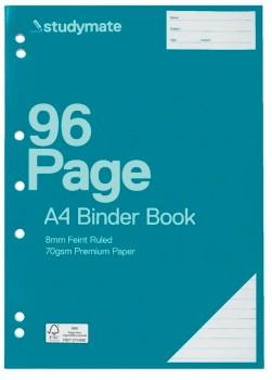 Studymate-A4-96-Page-70gsm-Binder-Book on sale