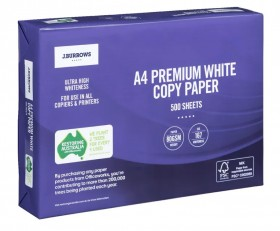 JBurrows-A4-80gsm-Premium-Copy-Paper-Ream on sale
