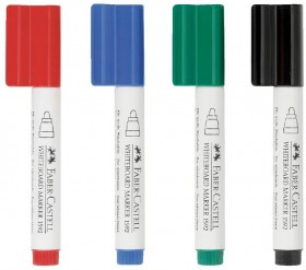 Faber-Castell-4-Pack-Connector-Pen-Whiteboard-Markers on sale