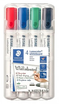 Staedtler-4-Pack-Lumocolor-Whiteboard-Markers on sale