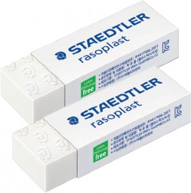 Staedtler-2-Pack-Rasoplast-Erasers on sale