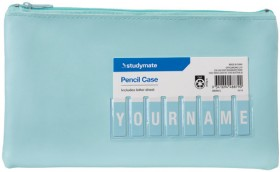Studymate-Name-Pencil-Case-Small-Teal on sale