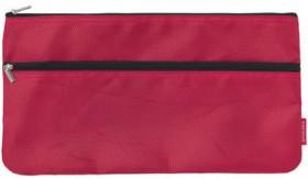 Studymate-Twin-Zip-Pencil-Case-Medium-Red on sale