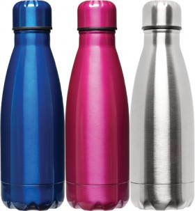 Studymate-Junior-Stainless-Steel-Drink-Bottles-350mL on sale