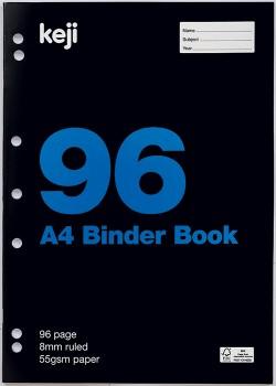 Keji-A4-96-Page-55gsm-Binder-Book on sale