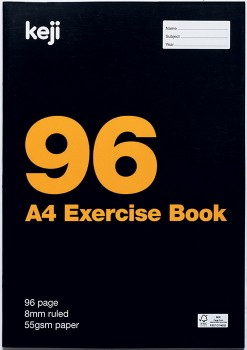 Keji-A4-96-Page-55gsm-Exercise-Book on sale