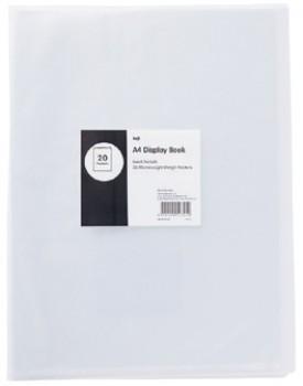 Keji-A4-20-Pocket-Fixed-Display-Book on sale
