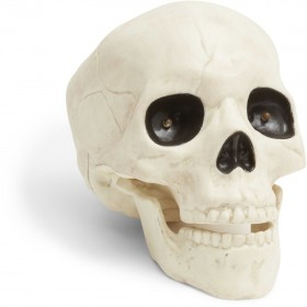 Animated-19cm-Glow-in-the-Dark-Skeleton-Head on sale
