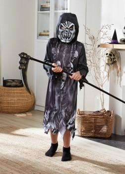 Halloween-Assorted-Plastic-Weapons-Kids-Grim-Reaper-Costume on sale
