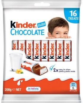Kinder-16-Pack-Chocolate-Sharepack-200g on sale
