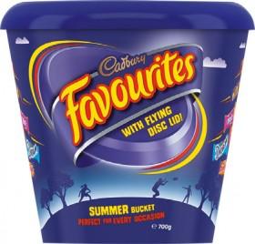 Cadbury-Favourites-Flying-Disk-Tub-700g on sale