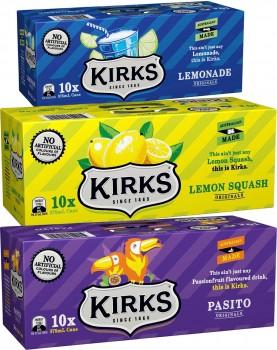 Kirks-10-Pack-Can-Varieties-375ml on sale