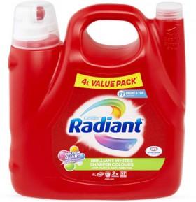 Radiant-Laundry-Liquid-4-Litre on sale