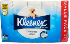 Kleenex-45-Pack-Toilet-Tissue on sale