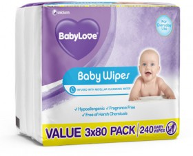 BabyLove-240-Pack-Wipes on sale