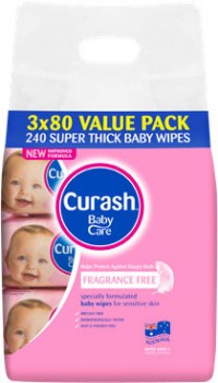 Curash-3-x-80-Pack-Fragrance-Free-Baby-Wipes on sale