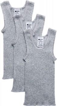 Dymples-3-Pack-Vest-Grey on sale
