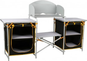 OZtrail-Double-Camp-Kitchen on sale
