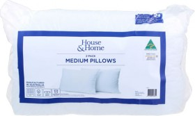 House-Home-2-Pack-Medium-Pillows on sale