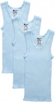 Dymples-3-Pack-Vest-Blue on sale