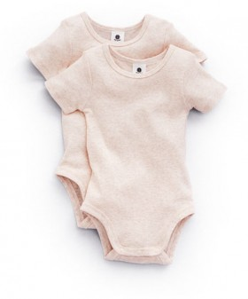 Dymples-2-Pack-Ribbed-Bodysuit-Light-Pink on sale