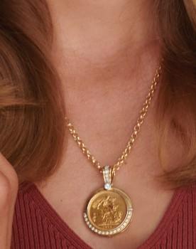 9ct-Gold-45cm-Solid-Belcher on sale
