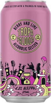 NEW-Tropapalooza-Seltzer-Berry-and-Lime-43-375mL on sale