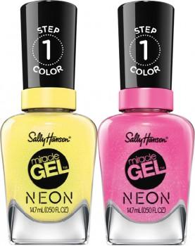 NEW-Sally-Hansen-Miracle-Gel-Nail-Polish-Neon-147mL on sale