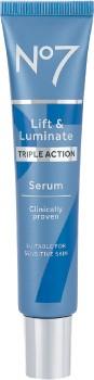 No7-Lift-Luminate-Triple-Action-Serum-30mL on sale