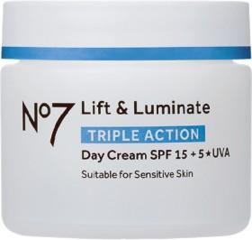 No7-Lift-Luminate-Triple-Action-Day-Cream-50mL on sale