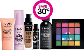 Save-30-on-Entire-NYX-Professional-Makeup-Range on sale