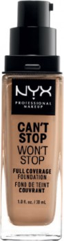 NYX-Professional-Makeup-Cant-Stop-Wont-Stop-24-Hour-Foundation-30mL on sale