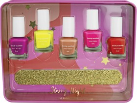 NEW-Beauty-Essentials-Starry-Night-Nail-Enamel-Gift-Set on sale