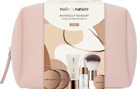 NEW-Nude-by-Nature-Naturally-Radiant-Gift-Set-Medium-7-Piece-Set on sale