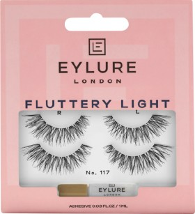 Eylure-Fluttery-Light-No-117-Lashes-2-Pairs on sale