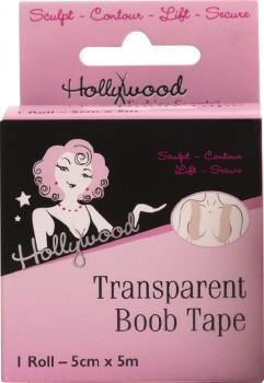 Hollywood-Transparent-Boob-Tape-Roll-5cm-x-5m-1ea on sale