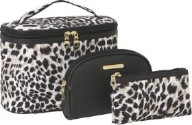 NEW-Models-Prefer-Black-Cosmetic-Bag-Set-3-Piece on sale