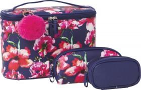 NEW-Models-Prefer-Flower-Cosmetic-Bag-Set-3-Piece on sale