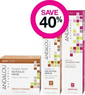 Save-40-on-Andalou-Naturals-Skincare-Range on sale