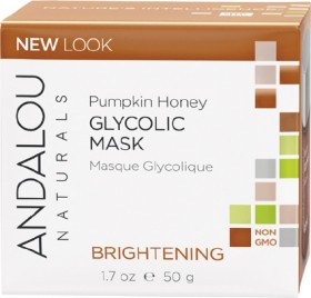 Andalou-Naturals-Brightening-Pumpkin-Honey-Glycolic-Mask-50g on sale