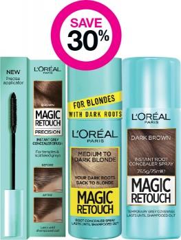 Save-30-on-LOral-Paris-Magic-Retouch-Range on sale