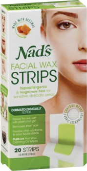 Nads-Facial-Wax-Strips-20-Pack on sale